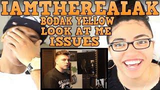IAMTHEREALAK LOOK AT ME (REMIX) | BODAK YELLOW (REMIX) | ISSUES (REMIX) | IAMTHEREALAK REACTION