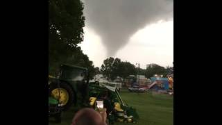 'Get Out!': Tornado Rips Through Linn County Fairgrounds