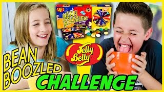 BEAN BOOZLED CHALLENGE! ORIGINAL + EXTREME! GROSS JELLY BEANS