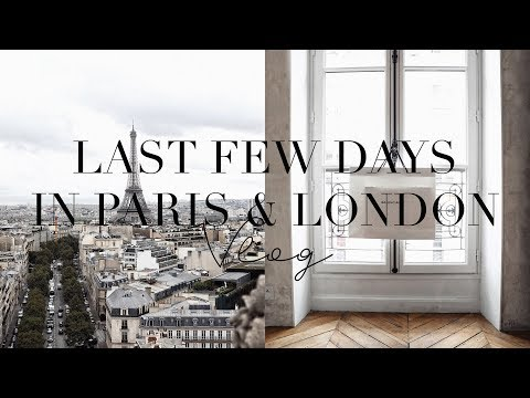 CAN YOU TELL WE'RE EXCITED? PARIS FASHION WEEK - LONDON - HOME | TWICE BLESSED EP 43