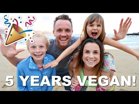 WE SURViVED BEiNG VEGAN FOR 5 YEARS