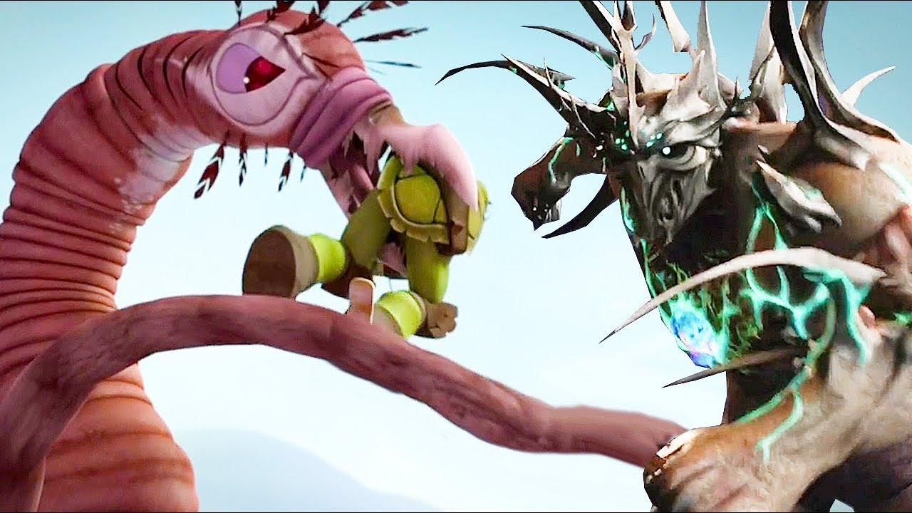 Teenage Mutant Ninja Turtles Legends Super Shredder Vs Force Of Nature Tmnt 2012 Youtube