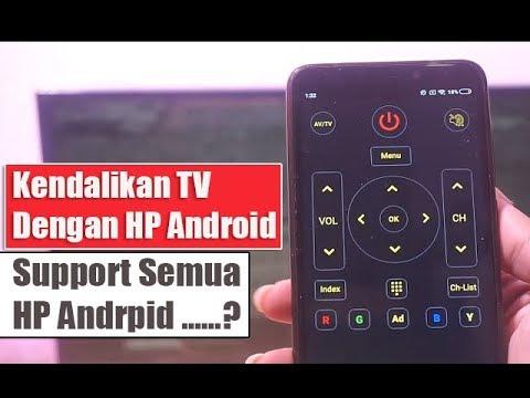 Cara Merubah HP ANDROID Menjadi REMOTE TV – 100 Work
