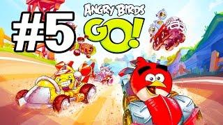 Angry Birds Go! Геймплей Прохождение Часть 5  Gameplay Walkthrough Part 5(Добро пожаловать на трассы скоростного спуска Свинского острова! Почувствуйте кайф гонки вместе с птицами..., 2015-01-19T23:42:14.000Z)