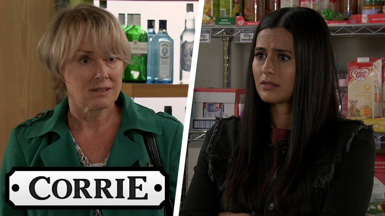 Sally Offers Alya The Money Geoff Gave to Tim for Their Wedding | Coronation Street