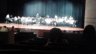 Hastings High School Symphonic Band, Pre-UIL 2014
