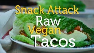 Snack Attack | Recipe Raw Vegan Nut Taco