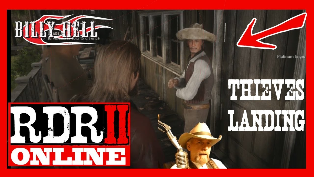Thieves Landing Fence And More Rdr2 Online Youtube