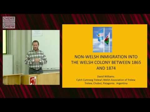 Non-Welsh immigration into Y Wladfa, 1865-1874 - David Williams