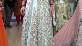 Jubilantmart3 light green very beautiful bridal jacket gown. Book your order fast +91 9815184481