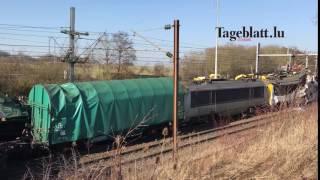 Ein CFL-Lokführer stirbt bei Zugkollision in Bettemburg
