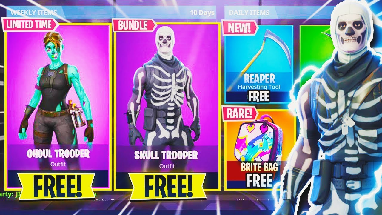 How To Get New Rare Skins Free Bundle Pack In Fortnite New Free