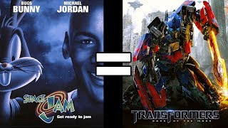 24 Reasons Space Jam & Transformers Dark Of The Moon Are The Same Movie