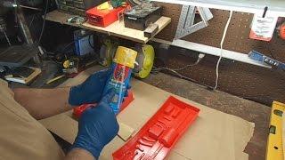 Foam filling tool trays