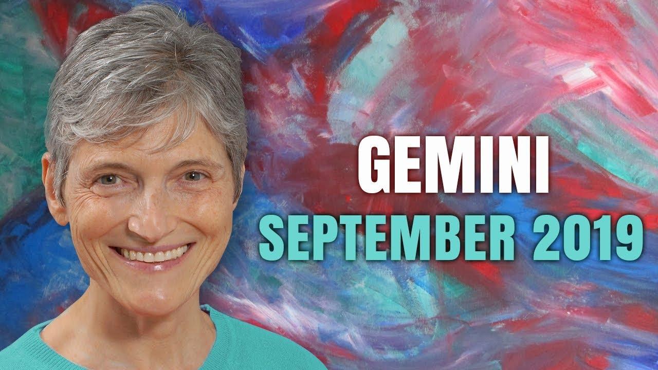 Gemini September 2019 Astrology Horoscope Forecast