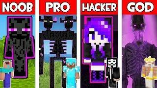 Minecraft - NOOB vs PRO vs HACKER vs GOD : ENDERMAN MUTANT in Minecraft ! AVM SHORTS Animation