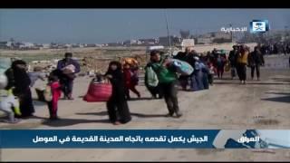 الجيش العراقي يكمل تقدمه باتجاه المدينة القديمة في الموصل  العراق