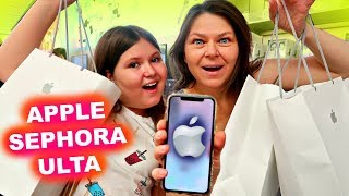 NO BUDGET AT APPLE STORE SEPHORA & ULTA! ~Shopping & Haul
