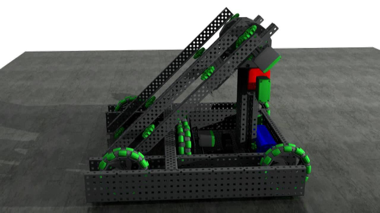 VEX Gateway Robot CAD - YouTube