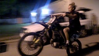 Riding Dirt Bikes in the Hood!