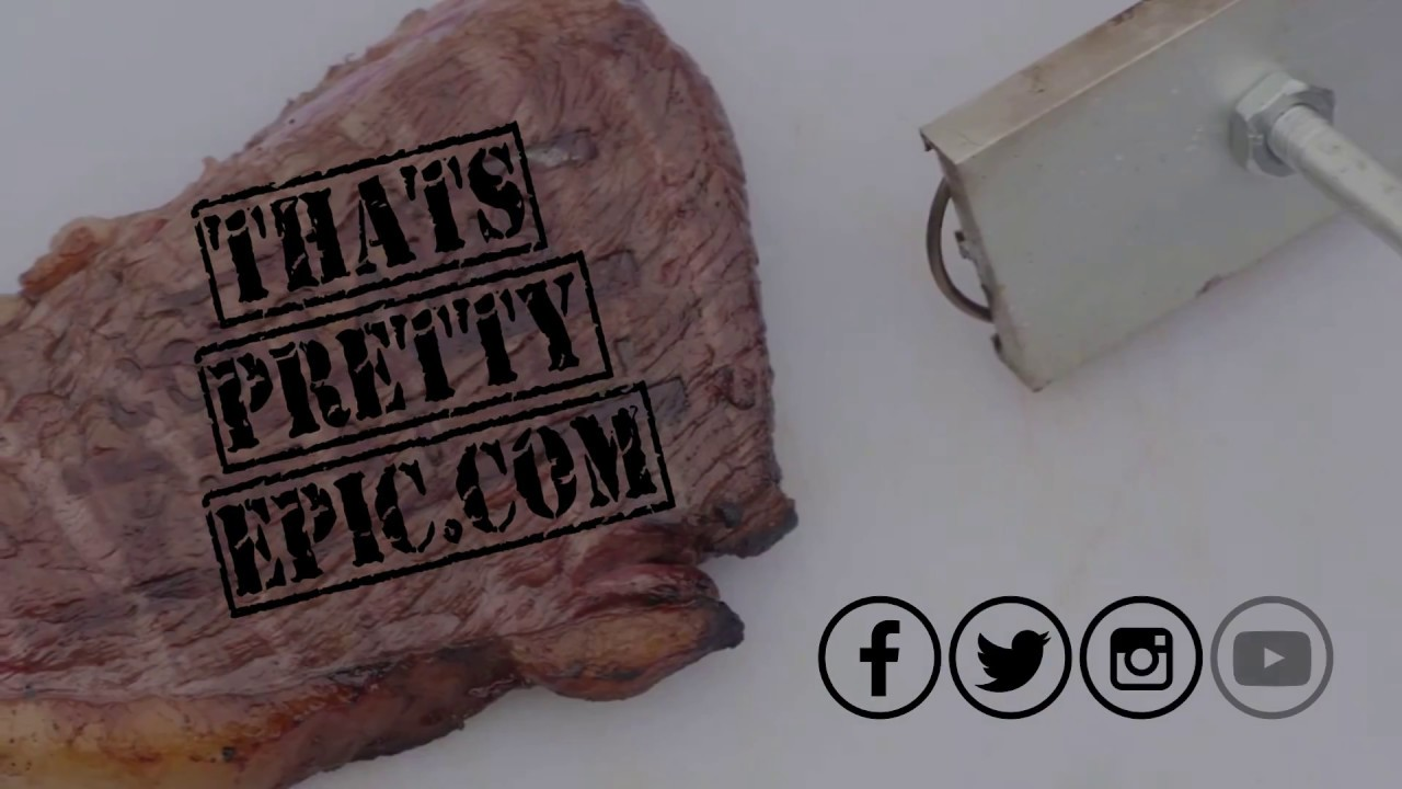 Bbq Branding Iron Fun Barbecue Tool Custom Stamping For Your