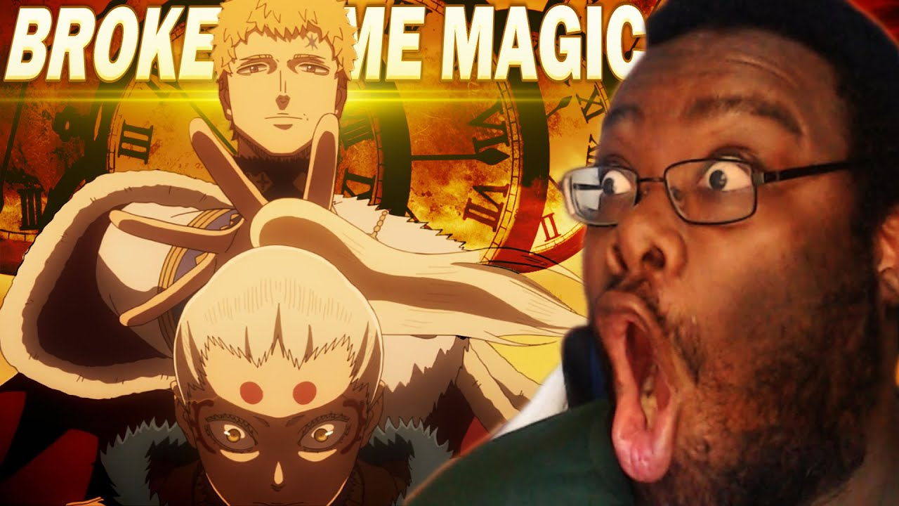 Download THIS FIGHT IS ABSOLUTLY INSANE! COOLEST TIME MAGIC EVER! | Black Clover Anime Reaction