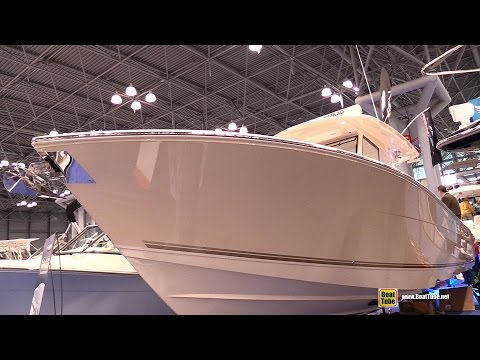 2015 Cobia 344 Center Console Fishing Boat - Walkaround - 2015 New York Boat Show