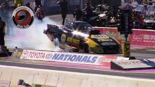 2017 NHRA Toyota Nationals @ LVMS (Part 30 - Top Alcohol Funny Car Round 2 Eliminations)