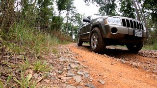 Exploring Back Roads in a Jeep Grand Cherokee