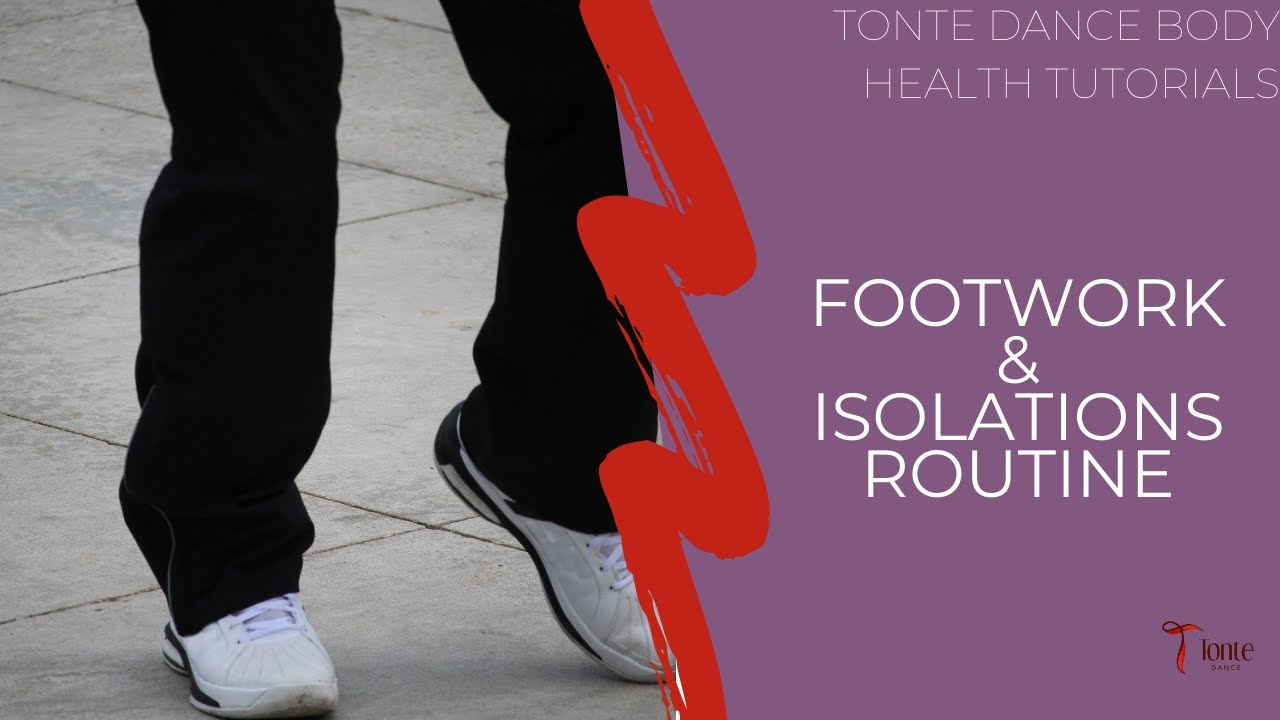 Tutorial: How To Coordinate Footwork with Isolations - Christian Dance -  Healing through Dance