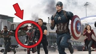 ALL THE EASTER EGGS in the New Captain America: Civil War Trailer
