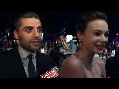 Carey Mulligan & Oscar Isaac Interviews - Inside Llewyn Davis & The Two Faces of January