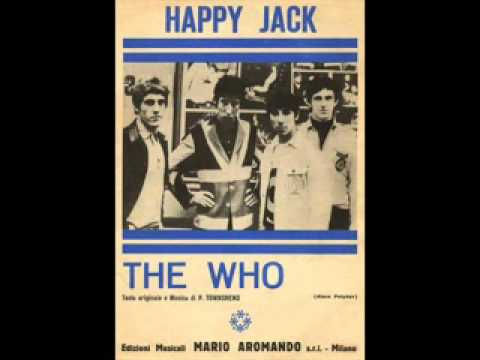 The Who   Happy Jack + lyrics