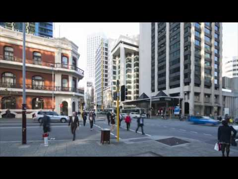 William Street Perth - Timelapse