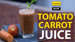 The ultimate antioxidant juice: Carrot Tomato juice | Truweight Recipe