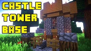 Minecraft: Castle Tower House/Base Tutorial Xbox/PC/PE/PS3/PS4