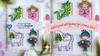 Birthday Card With Newtons Nook & August Release Recap