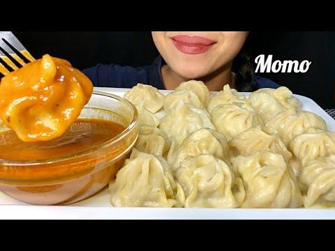 Download MOMO EATING CHALLENGE   ASMR EATING   SUPER YUMMY DUMPLING