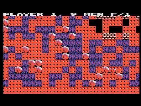 Arcade Game: Boulder Dash (1984 Exidy / First Star Software)