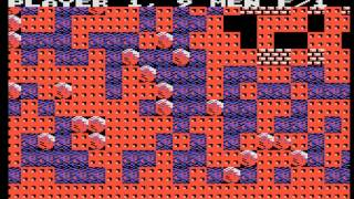 Arcade Game: Boulder Dash (1984 Exidy / First Star Software)