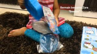 Zara bermain beados - magically joins with water WONDERLAND CASTLE THEME PACK