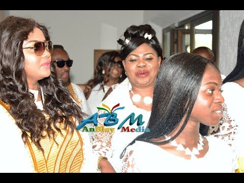 Nana Ama McBrown 's mother, Mrs Cecilia Agyenim Boateng aka Mama Egal, 60th birthday party