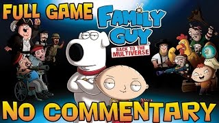 Family Guy: Back To The Multiverse - Full Walkthrough  【60 FPS】【NO Commentary】