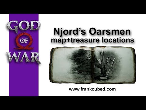 "God of War ""NJORDS OARSMEN"" Map and Treasure Locations"