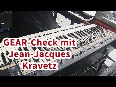 Music nStuff: Gearcheck mit Jean-Jacques Kravetz auf Tour mit Udo Lindenberg