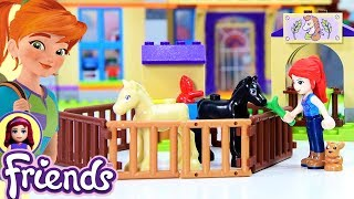 Lego Friends Mia's Foal Stable Build Review Silly Play - Kids Toys