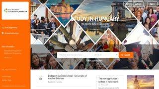 Обучение за границей || Stipendium Hungaricum || Документы