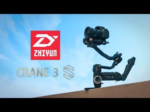 ZHIYUN CRANE 3S: Un Gimbal Que Soporta Hasta Cámaras De Cine
