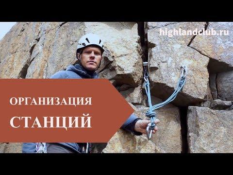 Организация станций в альпинизме //HighLandClub.Ru