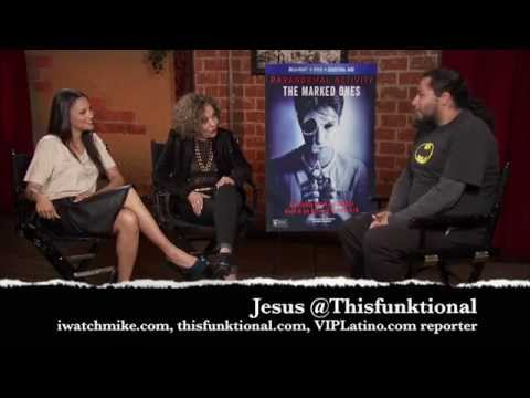 @Thisfunktional s Gabrielle Walsh & Renee Victor of 'Paranormal Activity: The Marked Ones'